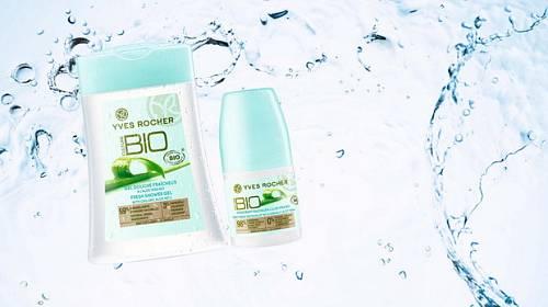 Zažijte osvěžující koupel s bio výrobky od Yves Rocher!