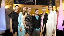 Módní noc: Jakub Polanka s modelkami