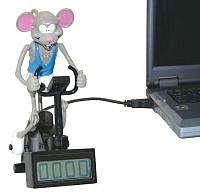Myš na kole
