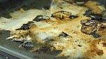 Vzniklou pastu naneseme na mastná místa a troubu zapneme na 45 min při teplotě 100°C.