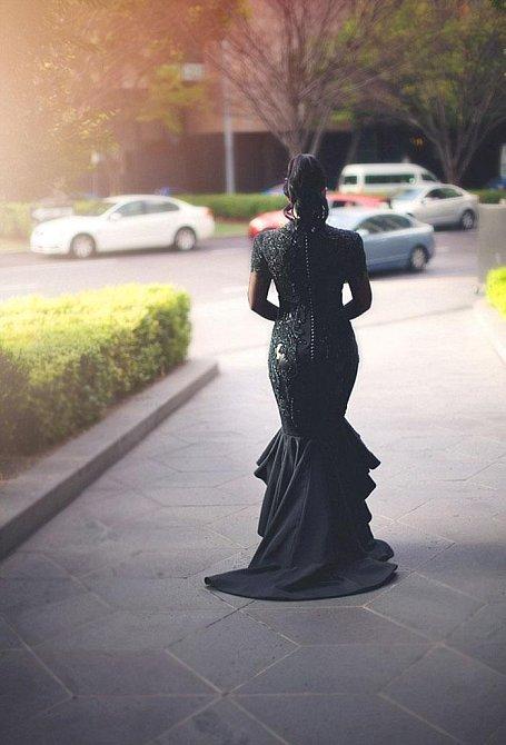 Sophie Cachia ve svůj svatební den