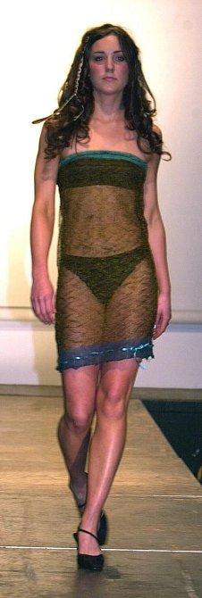 To jsou ony pověstné šaty, v nichž se Kate objevila na přehlídce a zaujala prince Williama