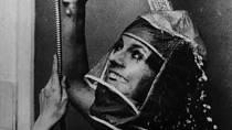 Aby make-up vydržel nedotčený i po umytí hlavy, vymyslel nějaký koumák tuto masku na hlavu.