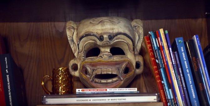 Maorská hlava patří do sbírky.