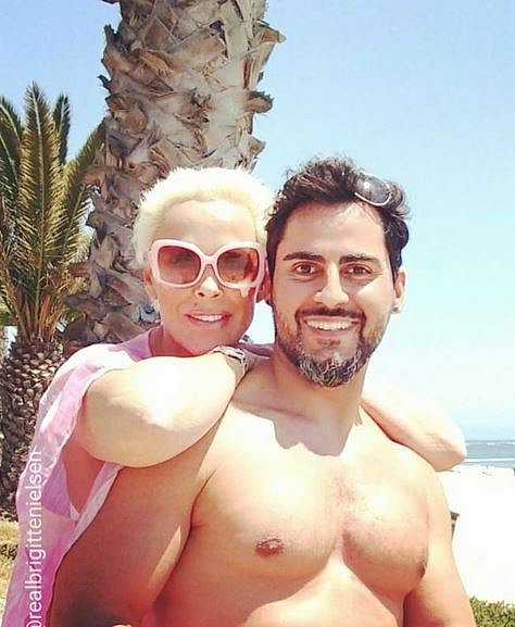 Brigitte se svým manželem Mattiou Dessim.