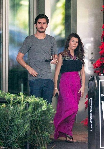 Kourtney Kardashian s bývalým manželem