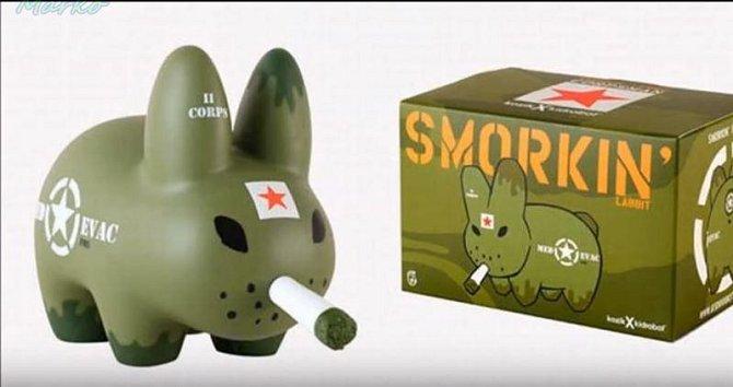Kouřící králíček