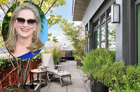 Meryl Streep prodává apartmán v New Yorku