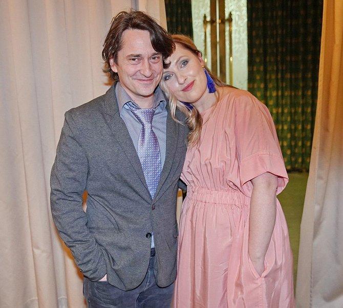 Saša se svou současnou ženou Lídou