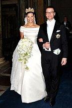 Švédské království má za sebou hned několik svateb, třeba princezny Victorie v roce 2010.