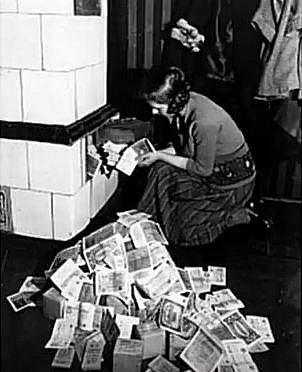 Inflace v Německu v roce 1920...