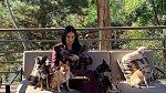 Demi miluje svou psí smečku.