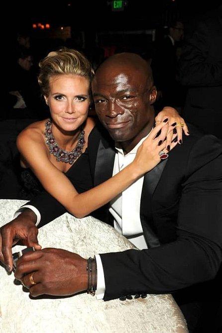 Heidi Klum tvořila se Sealem dokonalým pár.