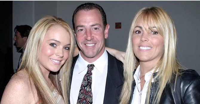 Michael a Dina Lohan s dcerou Lindsay