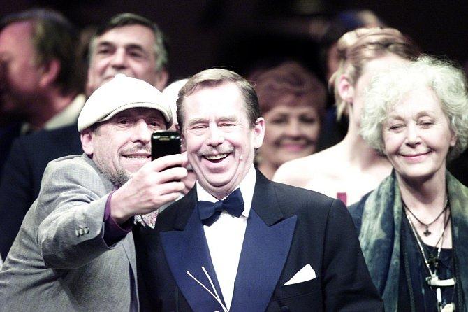 Květa Fialová a Václav Havel si byli blízcí.