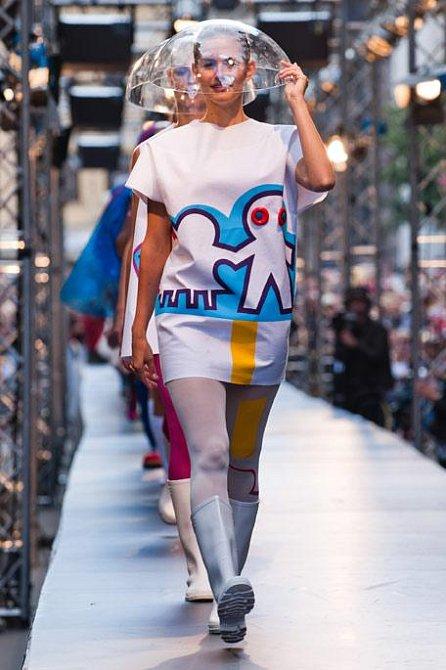 A její kolekce s názvem Přetvářka, kterou odborná porota vyhodnotila v soutěži New Fresh Style jako nejlepší