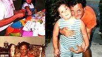 Maria Odugba se svým tatínkem
