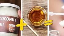 Silnější nehty - smíchejte v poměru 1:1 kokosový olej a med a přidejte pár kapek levandulové oleje. Směs každý večer vetřete do nehtového lůžka.
