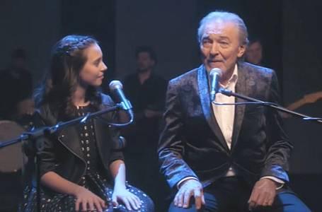 Karel Gott nazpíval s dcerou Charlottou překrásný duet