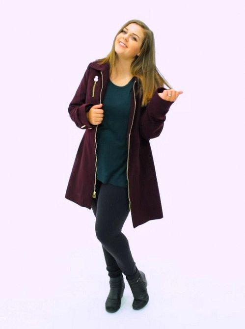 Oproti tomu úzké džíny vás opticky prodlouží a můžete si dovolit i onen lehce zkracující delší kabát.