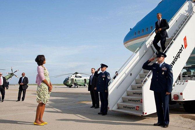 Michelle vítá svého muže, 2012