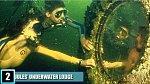 18. Podvodní doupě alá Jules Verne - Tento podvodní hotelový komplex je umístěn v podmořské parku v Key Largo na Floridě.