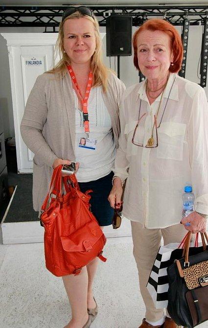 Sabina Remundová (s maminkou Ivou Janžurovou)