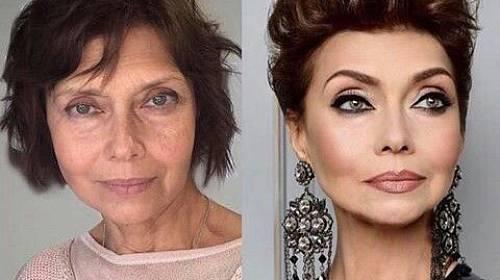 Síla make-upu je neuvěřitelná.