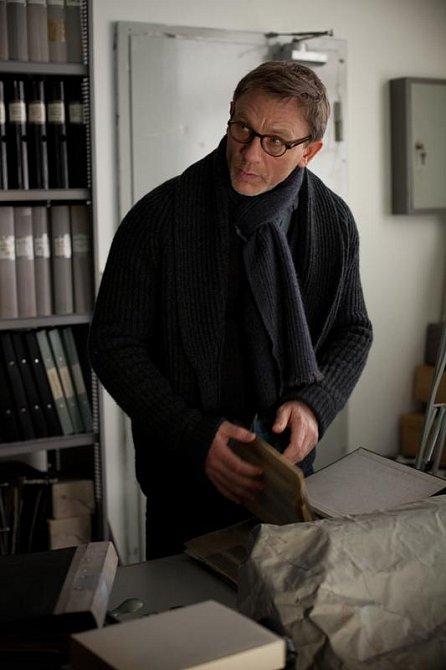 Daniel v roli novináře Mikaela Blomkvista v trileru Muži, kteří nenávidí ženy