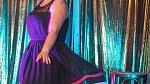 Fotka z pvního burleskního vstoupení. Tehdy vznikla Ginger Wixxie.