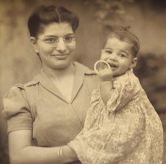 Freddie se svou maminkou