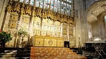 Kostel sv. Jiří ve Windsoru, ve kterém se svatba uskuteční.