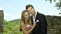 Denisa Grossová a Robin Puškaš se sice zasnoubili, ze svatby ale nakonec sešlo.