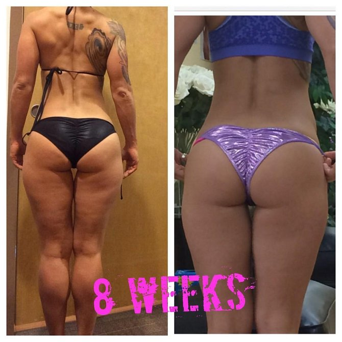 FOTOGALERIE: Co s vaším tělem udělají DŘEPY! Podívejte se na neuvěřitelné proměny!
