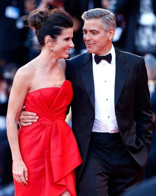 George Clooney je její blízký přítel.