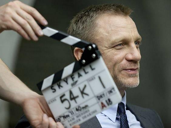 Natáčení bondovky Skyfall