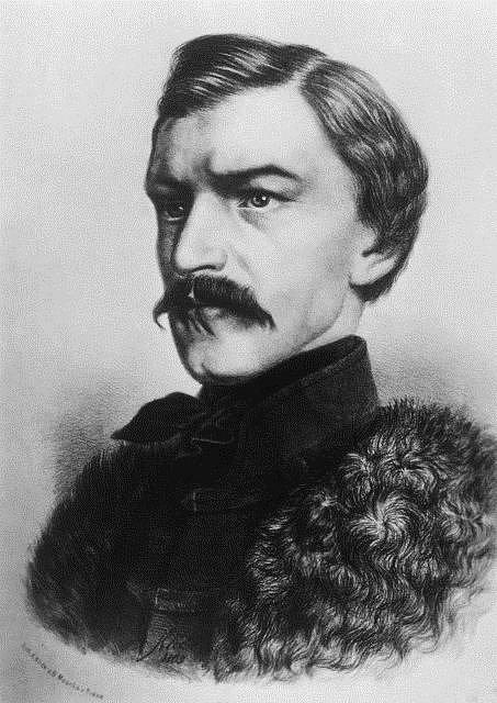 Karel Havlíček Borovský, český básník a novinářarel