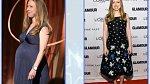 Chelsea Clinton 3 měsíce po porodu
