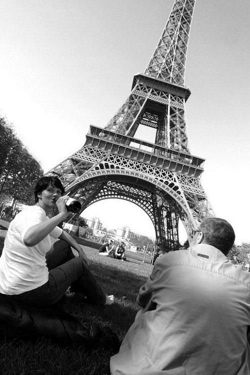 Předvánoční výlet do Paříže s kamarádkou