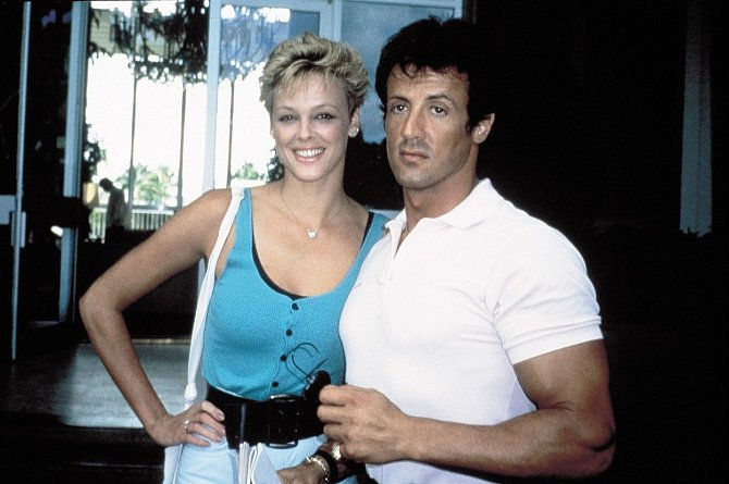 Brigitte Nielsen s bývalým manželem Sylvestrem Stallone.