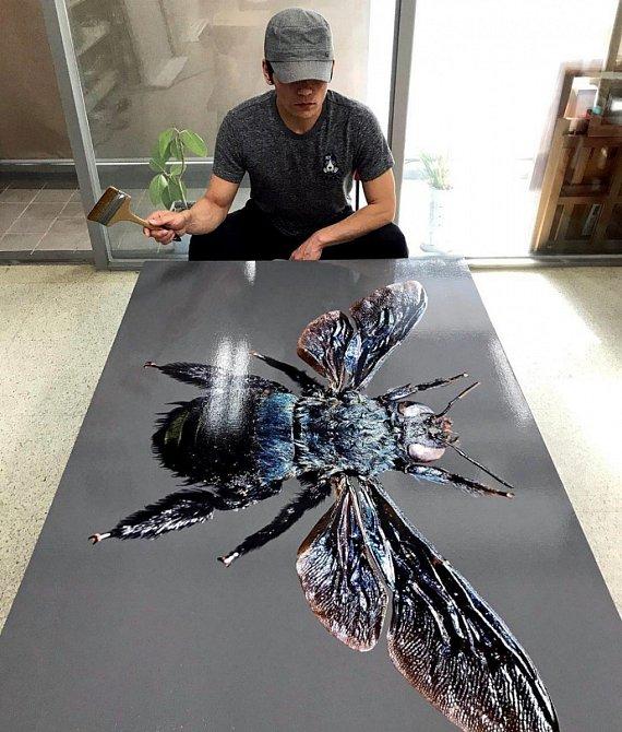 Young-Sung Kim tvoří neskutečné obrazy