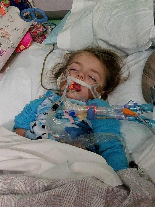 Braylynn bohužel onemocněl nejzávažnější formou rakoviny.