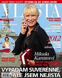 Milada Karasová: Stydím se vstoupit do luxusního obchodu