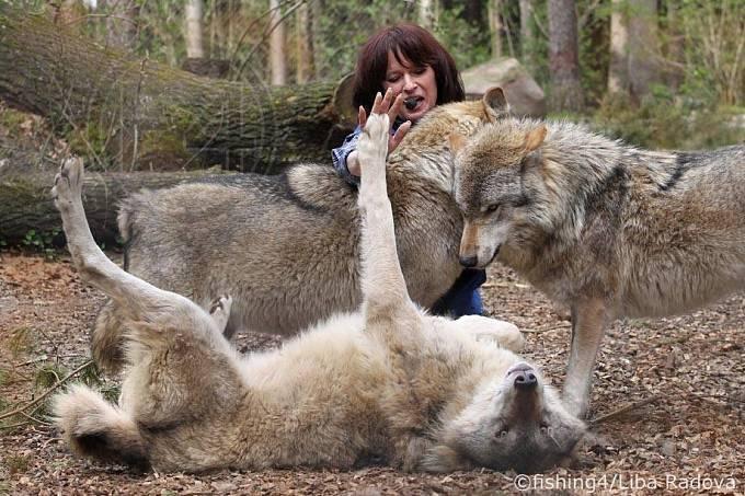 Otec jí naučil se o zvířata starat.