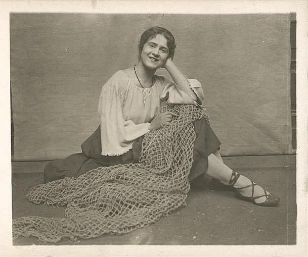 Liběna Odstrčilová (1890-1962), česká herečka