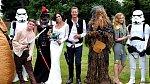 Svatebčané jsou milovníky Star Wars