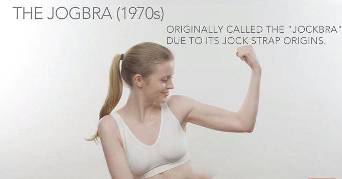 Podprsenka jockbra (později přejmenována na jogbra)