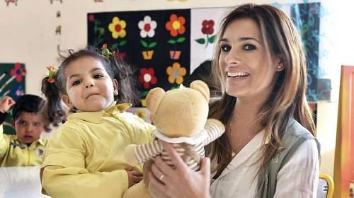 Alena Šeredová adoptovala holčičku