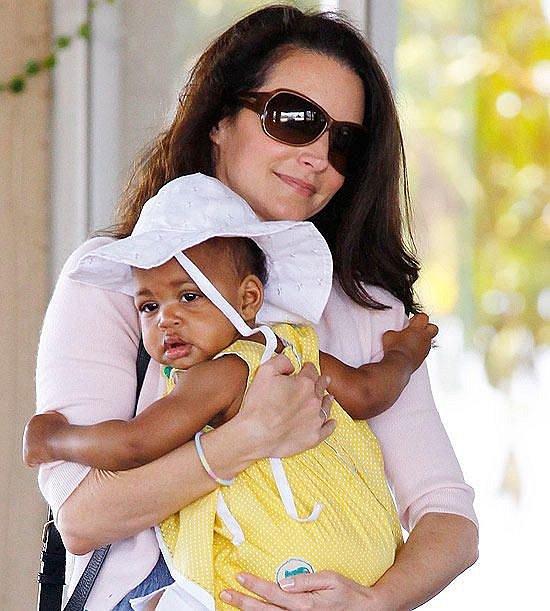 Kristin Davis nebylo dopřáno mít vlastní děti, vyřešila to adopcí.