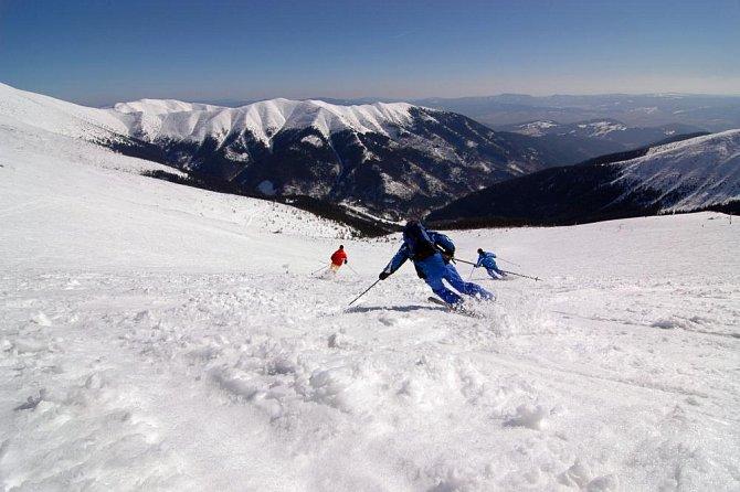 Tatry v zimě lákají ke sportu
